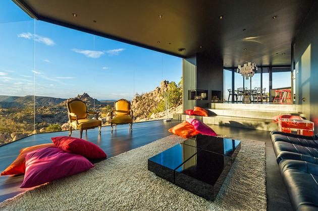 decoracao-exotica-sala-de-estar-casa-em-palm-springs-california