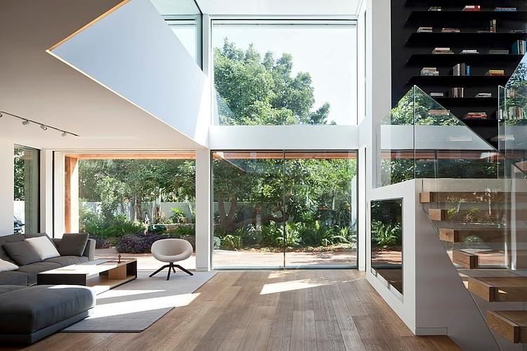 Arquitetura de interiores clean e minimalista por gerstner for Casa minimalista living