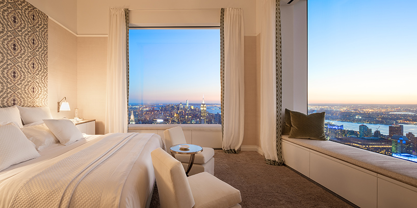 quarto-de-casal-fachada-de-vidro-432-park-avenue-em-nova-york