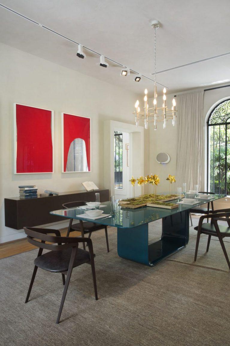Mesa de jantar por Gisele Taranto para o Casa Cor Rio ...