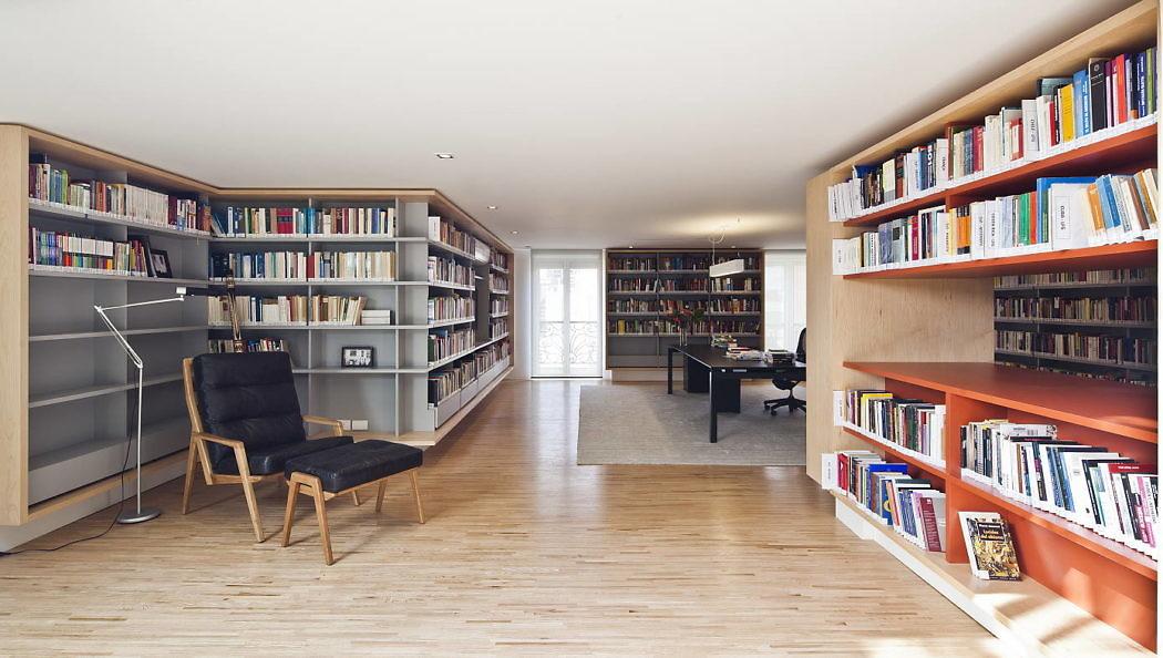 projeto-biblioteca-cobertura-triplex-ibirapuera-por-casa-14-arquitetura